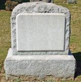 ταφόπετρα στοκ φωτογραφία
