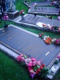 Ταφόπετρα Elvis στοκ φωτογραφίες με δικαίωμα ελεύθερης χρήσης