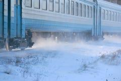 Ταχεία κίνηση του intercity τραίνου στοκ εικόνες