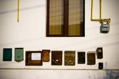 ταχυδρομείο αλληλογραφίας κιβωτίων Στοκ Φωτογραφία