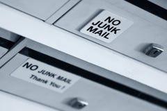 ταχυδρομείο αριθ. παλιοπραγμάτων Στοκ φωτογραφία με δικαίωμα ελεύθερης χρήσης