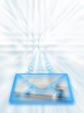 ταχυδρομείο Διαδικτύο&ups Στοκ εικόνες με δικαίωμα ελεύθερης χρήσης
