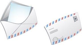 ταχυδρομείο εικονιδίων Στοκ φωτογραφίες με δικαίωμα ελεύθερης χρήσης