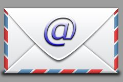 ταχυδρομείο εικονιδίων διανυσματική απεικόνιση