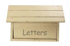 ταχυδρομείο κιβωτίων ξύλ&i Στοκ Εικόνες