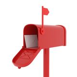 ταχυδρομείο κιβωτίων απεικόνιση αποθεμάτων