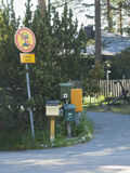 ταχυδρομείο κιβωτίων Στοκ Φωτογραφία