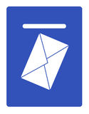 ταχυδρομείο κιβωτίων διανυσματική απεικόνιση