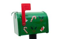 ταχυδρομείο Χριστουγέν& Στοκ Εικόνες