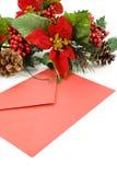 ταχυδρομείο Χριστουγέν& Στοκ Φωτογραφία