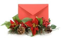 ταχυδρομείο Χριστουγέν& Στοκ εικόνα με δικαίωμα ελεύθερης χρήσης