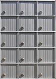 Ταχυδρομικές θυρίδες Στοκ φωτογραφία με δικαίωμα ελεύθερης χρήσης