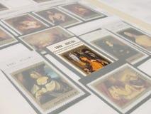 ταχυδρομικές σφραγίδες Στοκ εικόνες με δικαίωμα ελεύθερης χρήσης
