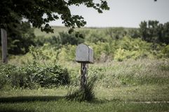 ταχυδρομική θυρίδα αγροτική Στοκ φωτογραφίες με δικαίωμα ελεύθερης χρήσης