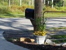Ταχυδρομική θυρίδα στη εθνική οδό Στοκ Φωτογραφία