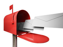 Ταχυδρομική θυρίδα διανυσματική απεικόνιση