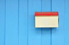 Ταχυδρομικό κουτί Grunge Στοκ Φωτογραφία