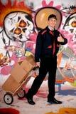 ταχυδρόμος γκράφιτι αστι& Στοκ Φωτογραφία
