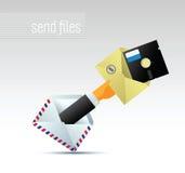 ταχυδρομείο ε Στοκ Εικόνες