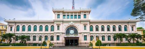 Ταχυδρομείο πανοράματος της πόλης του Ho Chi Minh, Βιετνάμ Στοκ Φωτογραφία