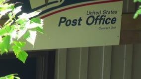 Ταχυδρομείο στην Αλάσκα απόθεμα βίντεο