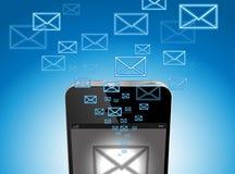 Ταχυδρομείο IPhone Στοκ εικόνα με δικαίωμα ελεύθερης χρήσης