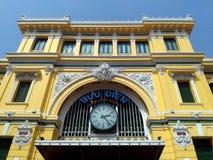 Ταχυδρομείο, Saigon, πόλη Χο Τσι Μινχ, Βιετνάμ Στοκ φωτογραφία με δικαίωμα ελεύθερης χρήσης