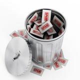 Ταχυδρομείο Spam απεικόνιση αποθεμάτων