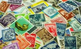 Ταχυδρομικά γραμματόσημα Στοκ Εικόνες