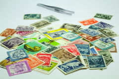 Ταχυδρομικά γραμματόσημα Στοκ φωτογραφία με δικαίωμα ελεύθερης χρήσης
