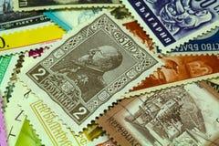 Ταχυδρομικά γραμματόσημα Στοκ εικόνα με δικαίωμα ελεύθερης χρήσης