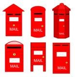 Ταχυδρομικά κουτιά Στοκ Φωτογραφία