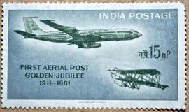 Ταχυδρομικά τέλη της Ινδίας Στοκ Φωτογραφία
