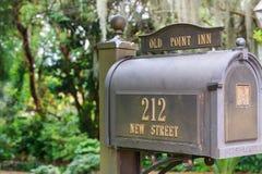 Ταχυδρομική θυρίδα αμερικανικών μετάλλων στοκ φωτογραφία με δικαίωμα ελεύθερης χρήσης