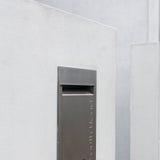 Ταχυδρομική θυρίδα ανοξείδωτου Στοκ εικόνες με δικαίωμα ελεύθερης χρήσης