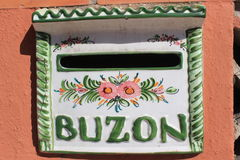 Ταχυδρομική θυρίδα στην Ισπανία/Buzon Στοκ φωτογραφία με δικαίωμα ελεύθερης χρήσης