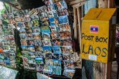 Ταχυδρομικό κουτί, Λάος στοκ εικόνα με δικαίωμα ελεύθερης χρήσης