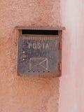 Ταχυδρομικό κουτί Carloforte, Isola Di SAN Pietro, Σαρδηνία, Ιταλία, Ευρώπη Στοκ Φωτογραφία