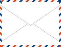 Ταχυδρομικό ταχυδρομείο για τις διεθνείς επιστολές Στοκ φωτογραφία με δικαίωμα ελεύθερης χρήσης