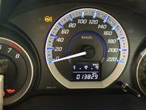 Ταχύμετρο κύκλων του αυτοκινήτου Στοκ Εικόνες