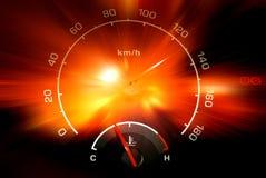 Ταχύμετρο στοκ φωτογραφία με δικαίωμα ελεύθερης χρήσης