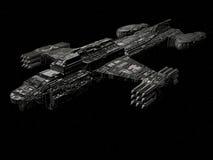 ταχύπλοο σκάφος μάχης διανυσματική απεικόνιση