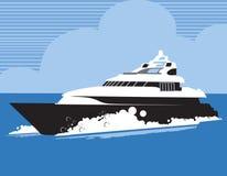 Ταχύπλοο σκάφος ελεύθερη απεικόνιση δικαιώματος