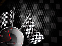 ταχύτητα αγώνα ανασκόπησης απεικόνιση αποθεμάτων