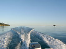 ταχύτητα βαρκών Στοκ Εικόνα
