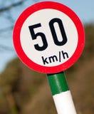 ταχύτητα ορίου Στοκ εικόνα με δικαίωμα ελεύθερης χρήσης