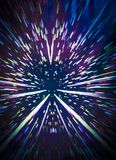 Ταχύτητα στρεβλώσεων στο χρώμα Στοκ φωτογραφία με δικαίωμα ελεύθερης χρήσης