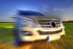 ταχύτητα της Mercedes μιλ. Στοκ Εικόνες