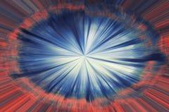 Ταχύτητα του φωτός διανυσματική απεικόνιση