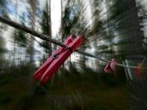 Ταχύ Clothespin Στοκ Εικόνες